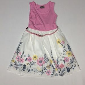 Beauties Easter Dress Girls size 4 floral